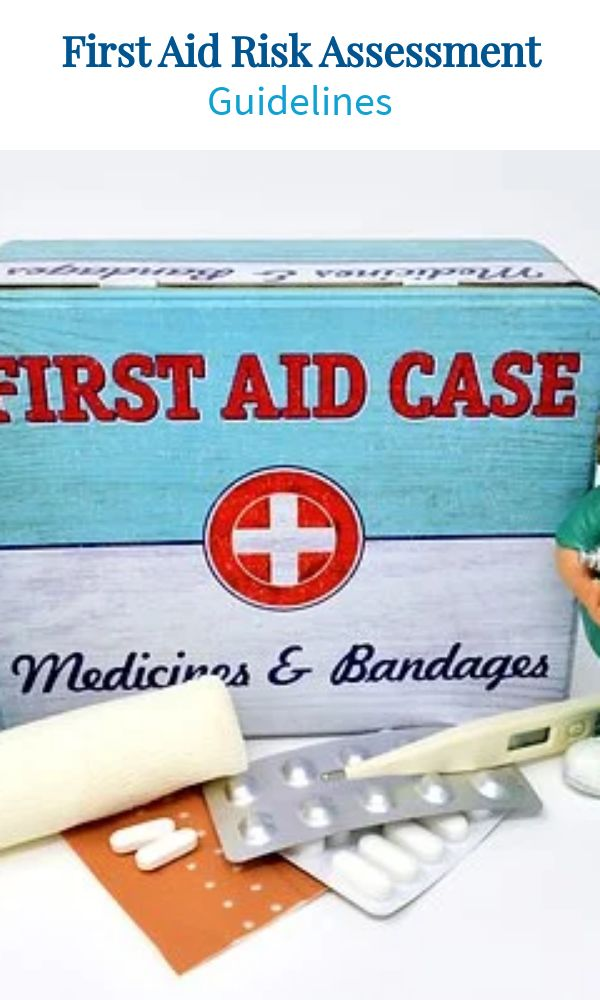 First Aid Risk Assessment Guidelines